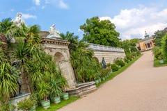 Sicilian trädgård i Sanssouci Arkivfoton