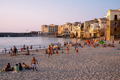 Sicilian vacation Stock Photo