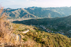 Sicilian valley Royalty Free Stock Photo