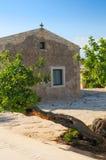 sicilian villa Arkivbild