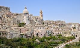 Sicilian Village Stock Photos