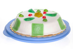 Sicilian White Cassata Royalty Free Stock Images