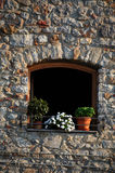 Sicilian window Royalty Free Stock Images