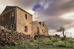 Siciliani di palmenti di Antichi Immagini Stock Libere da Diritti