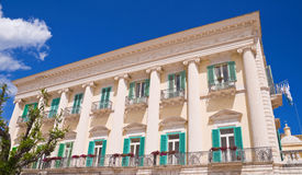 Siciliano Palace. Giovinazzo. Apulia. Stock Photos
