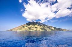 Sicilien ö i en solig dag Royaltyfria Foton