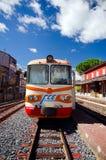 Sicilien Ferrovia Circumetnea Arkivfoton