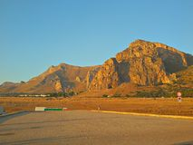 Sicilien land av myten Arkivfoto