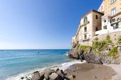 Sicilien sjösida Fotografering för Bildbyråer