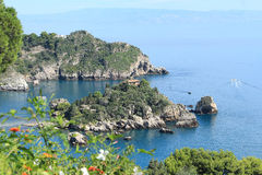 Sicilien strand, Italien Royaltyfria Bilder