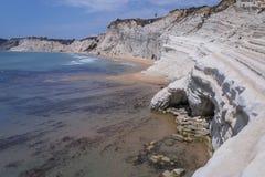Siciliy beautiful coasts Stock Photo