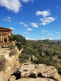 Temple in Agrigento royalty free stock photo