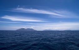 Italy Sicily Aeolian Islands, Filicudi Island, Lipari and Vulcano stock images