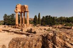 Sicily Agrigento świątyni dolina Fotografia Royalty Free