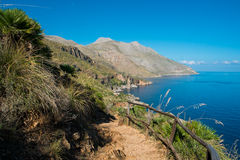 Sicily coast Stock Photography