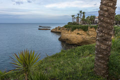 Sicily coastline in the afternoon Royalty Free Stock Image