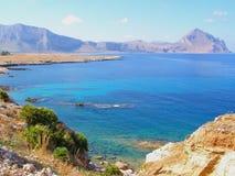 Sicily coastline (Italy) Royalty Free Stock Photo