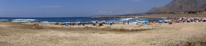 Sicily coastline italy Royalty Free Stock Images