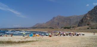 Sicily coastline italy Royalty Free Stock Photos