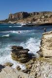 Sicily coastline italy Stock Photos