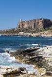 Sicily coastline italy Royalty Free Stock Photography