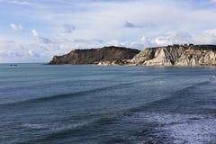 Sicily coastline near Agrigento Stock Photos
