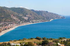 Sicily east coast. Royalty Free Stock Photography
