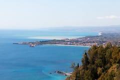 Sicily east coast. Royalty Free Stock Image