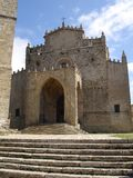 sicily erice medieval church cathedral Royalty Free Stock Photos