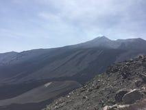 Sicily Etna summer stock photos