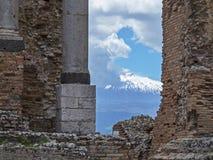 Sicily, Etna volcano Stock Image