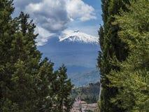 Sicily, Etna volcano Royalty Free Stock Image