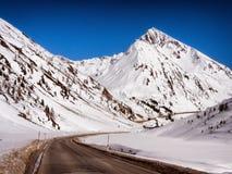sicily för väg för panorama för land för luftblueoklarheter öppen sky Arkivfoto