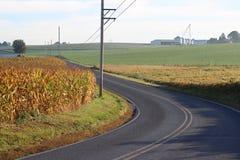sicily för väg för panorama för land för luftblueoklarheter öppen sky Arkivbild