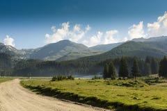 sicily för väg för panorama för land för luftblueoklarheter öppen sky Royaltyfria Bilder
