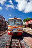 Sicily, Ferrovia Circumetnea Zdjęcia Stock