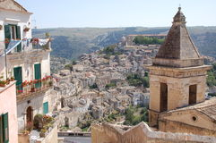 Sicily - Ibla - Ragusa. Typical Sicilian Town - site under UNESCO protection Royalty Free Stock Image