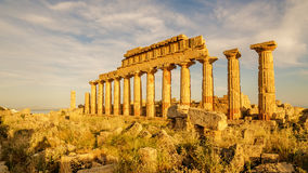 Sicily, Italy: Acropolis of Selinunte Stock Photography