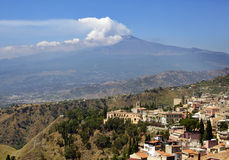 Sicily, Italy, with Etna Stock Images