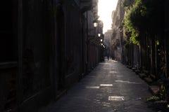 San Berillo Street in Catania stock photos