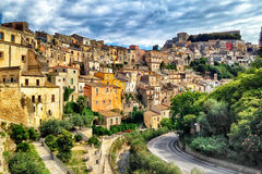 Sicily Italy Ragusa Historical Stock Image