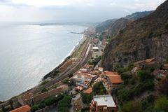 Sicily Landscape Stock Image