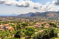 Sicily Landscape Royalty Free Stock Photos