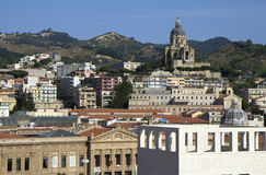 Sicily. Messina. Messina was founded by the Greeks in 756 BC, when it was called Zancle Royalty Free Stock Images