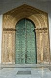 Sicily Monreale Front Door. The magnificent front door of the Cathedral of Monreale in Sicily Royalty Free Stock Photography