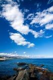 Sicily - morze śródziemnomorskie Obraz Royalty Free
