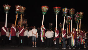 Sicily-Noto-Feast of San Corrado Stock Photo