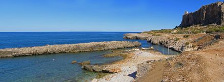 Sicily panorama (Italy) Royalty Free Stock Photos
