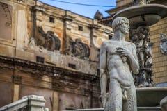 Sicily pretoria square Stock Photo