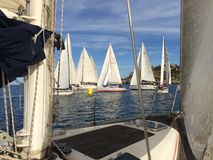 Sicily regatta Zdjęcie Royalty Free
